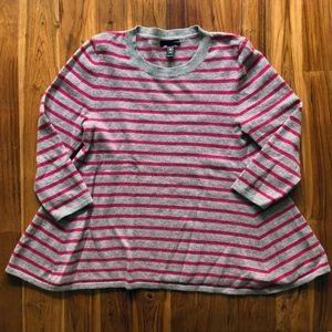 Aqua Cashmere Sweater Size Small